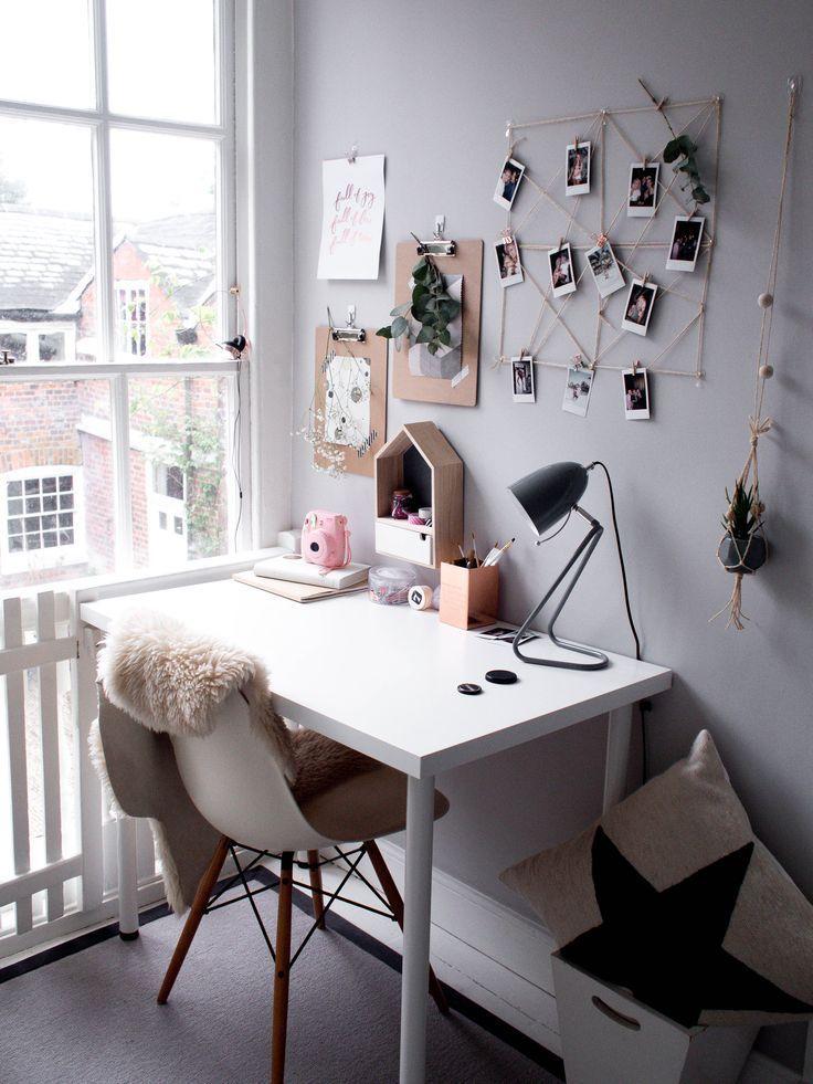 scandinavian home office - Jugendzimmer | Idée chambre, Idée ...