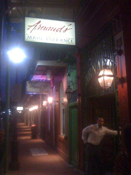Arnaud's on Bourbon St. - New Orleans 2010.