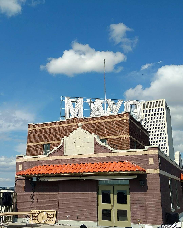 Rooftop boozin' #MayoHotel #alcohol #drinks #Tulsa #Oklahoma