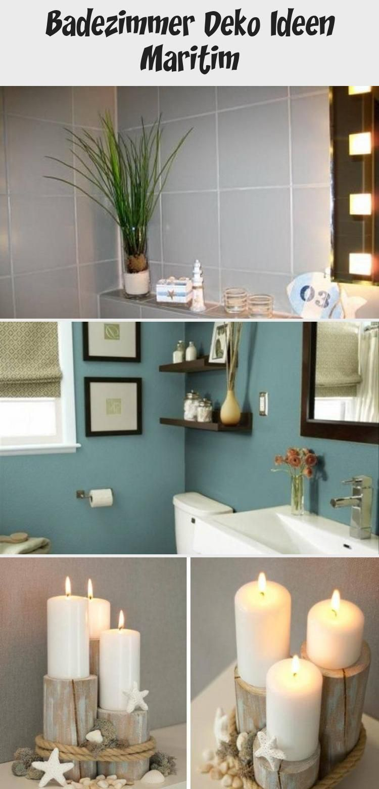 Badezimmer Deko Ideen Maritim Dekoration In 2020 Home Decor Decor Lighted Bathroom Mirror