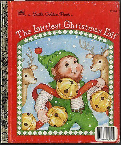 The Littlest Christmas Tree Story: The Littlest Christmas Elf (Little Golden Book
