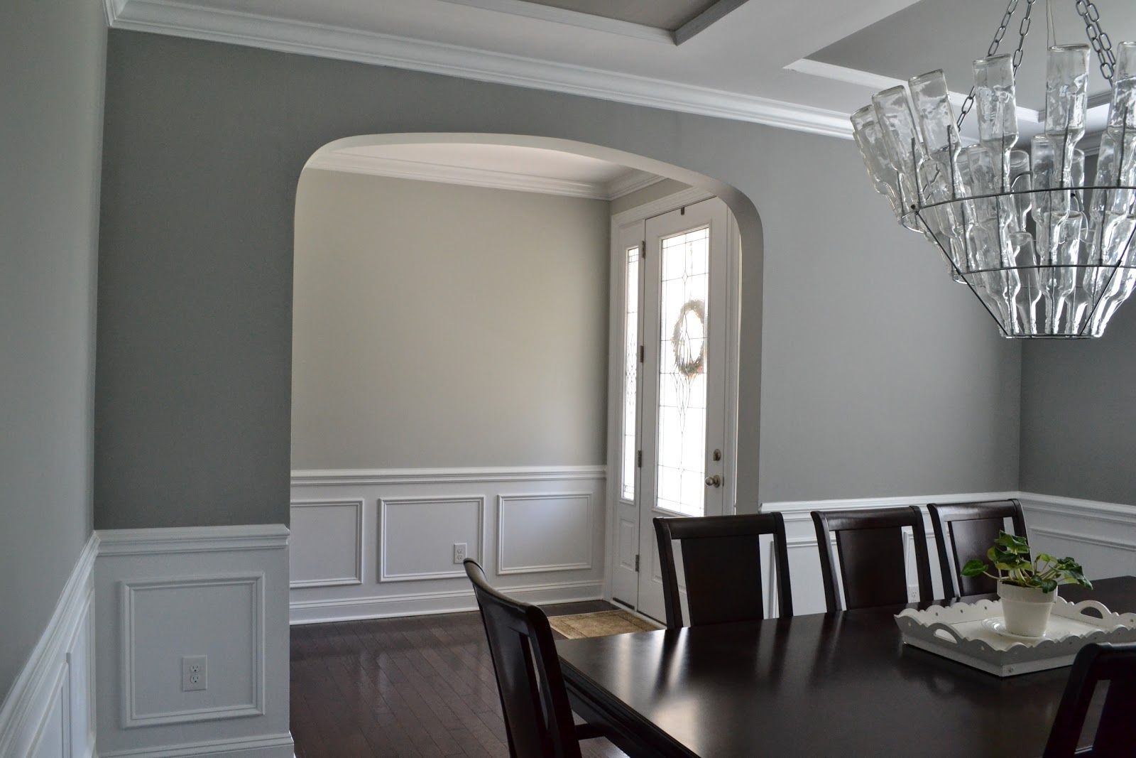 Gray paint on pinterest benjamin moore gray gray paint - Gray clouds sherwin williams exterior ...