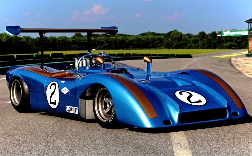 Can Am Car >> 1969 Alan Mann Holman Moody Ford Can Am Car Old Race Cars