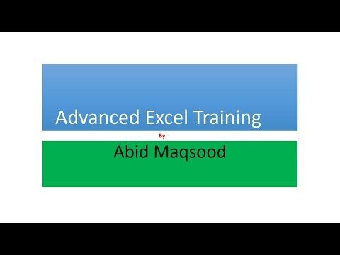 Lesson # 3 Urdu - Advanced Excel Training - Excel Formula - VLOOKUP
