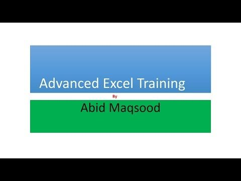 Lesson 3 urdu advanced excel training excel formula vlookup lesson 3 urdu advanced excel training excel formula vlookup youtube create listbar chartpivot ccuart Choice Image