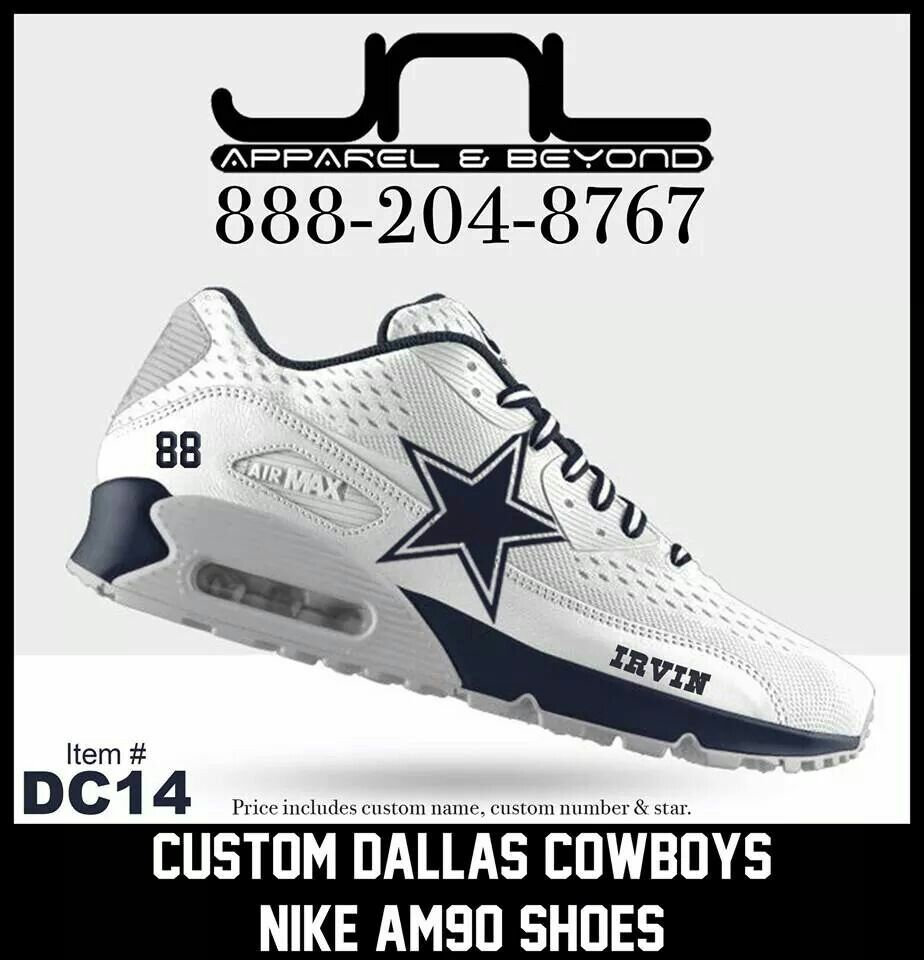 on sale 71c51 41ec8 ... Dallas Cowboys Dallas Cowboys Pinterest Cowboys, Dallas a ... nike air  max 90 dallas cowboys custom . ...