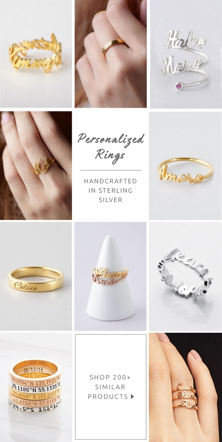 rings lenawald product ring category archives thin script word