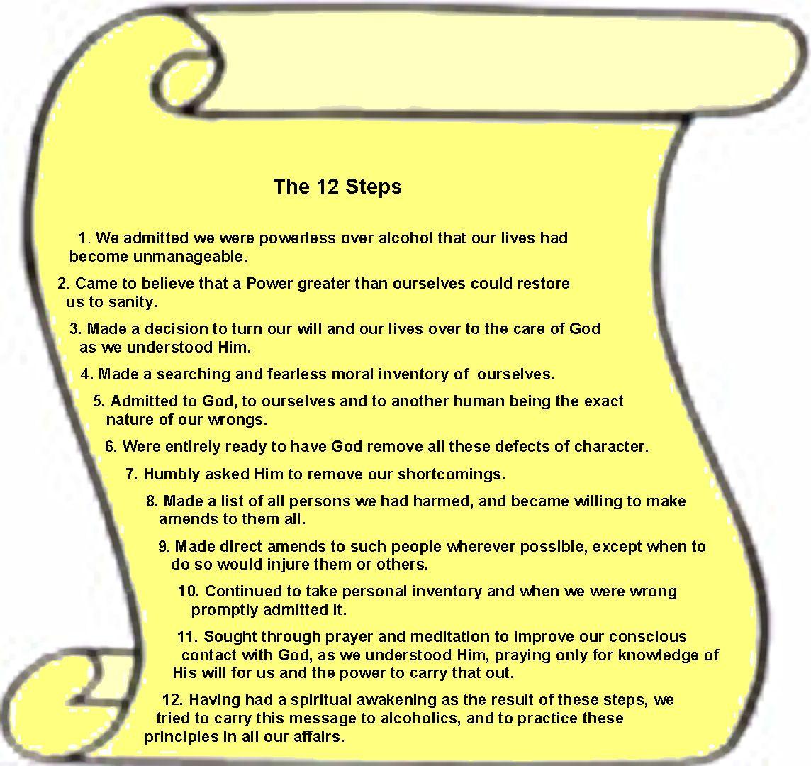 Al Anon 12 Steps