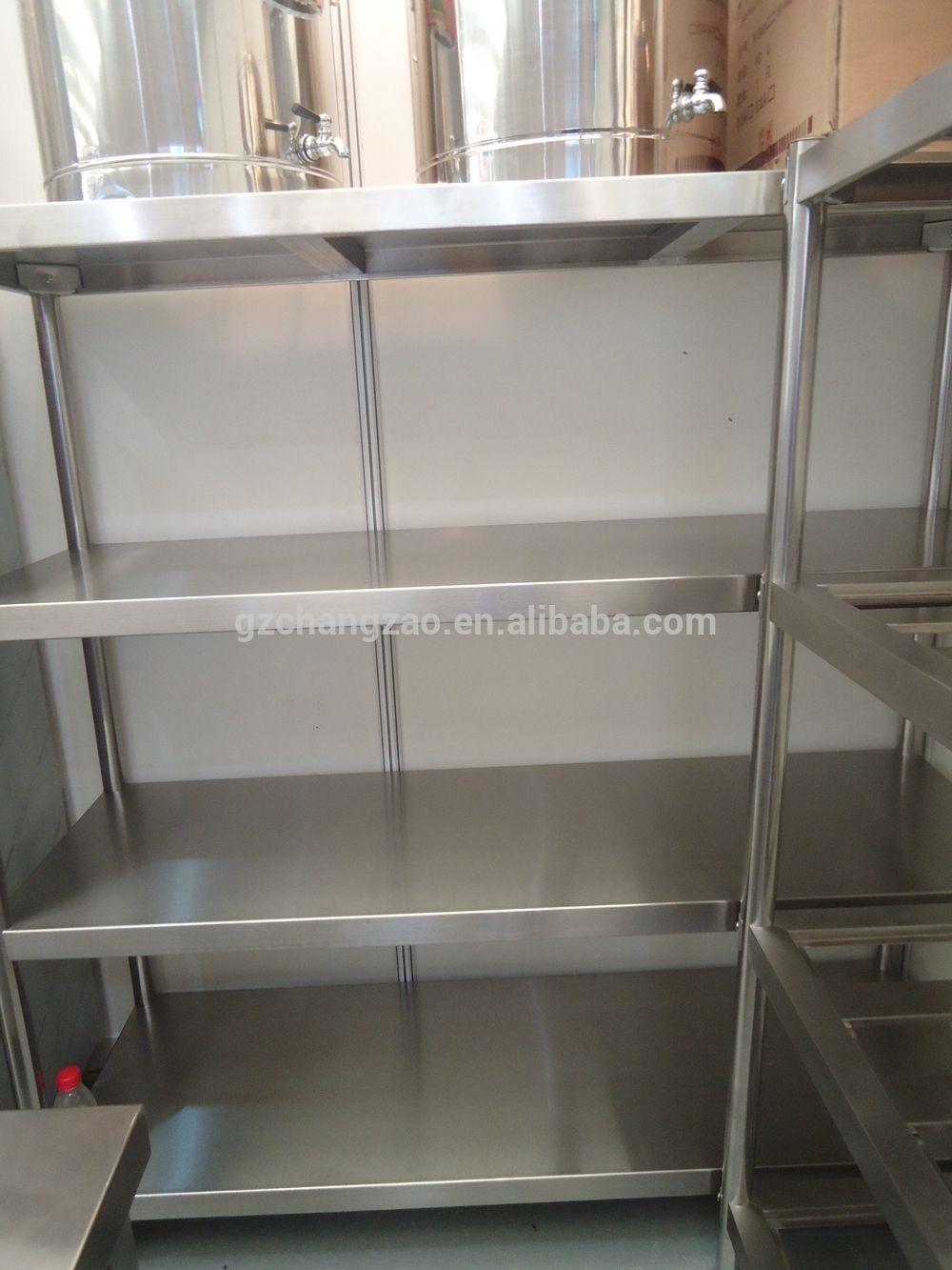 Stainless Steel Storage Rack Board Type Stainless Steel Free