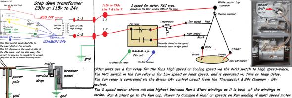Thermostat Relay Wiring Diagram Di 2020 Dengan Gambar