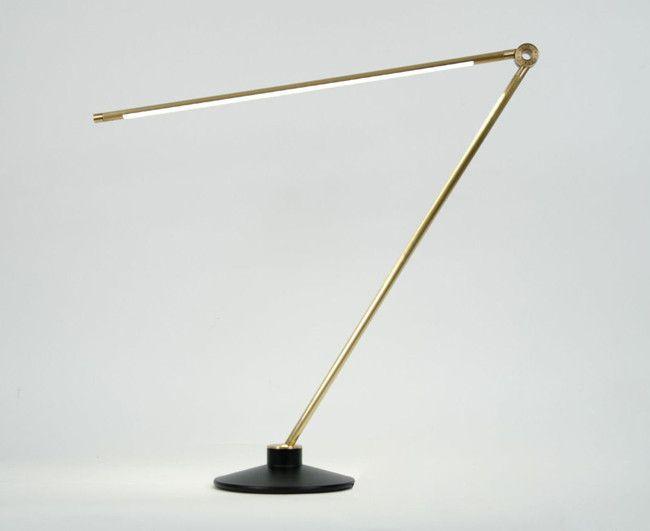 Juniper design thin lamp brass dshop