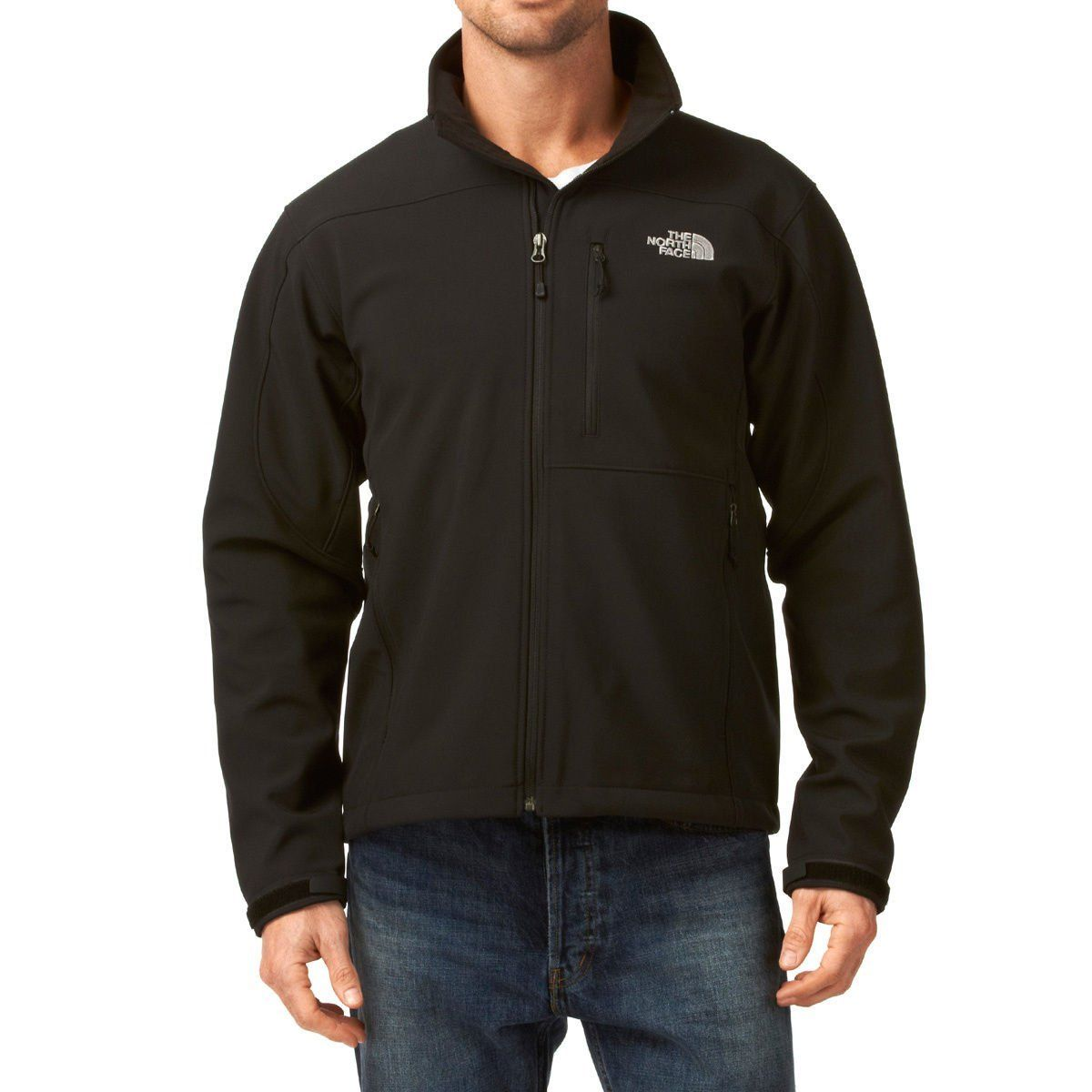 The North Face Apex Bionic Soft Shell Jacket Men S You Can Get More Details Here Hiking Clothes Black Outerwear North Face Mens Hiking Outfit [ 1200 x 1200 Pixel ]