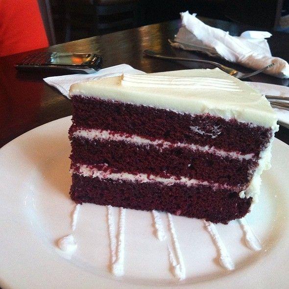Red Velvet Cake @ California Pizza Kitchen | Fun desserts ...