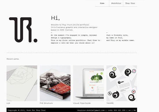 30 Minimalist Portfolio Website Designs For Inspiration Portfolio Website Design Web Design Web Design Inspiration