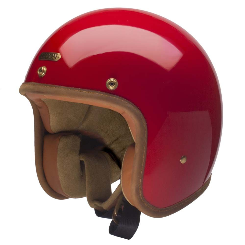 Hedon Hedonist Helmet - Rouge   Open Face Motorcycle Helmets   FREE UK  delivery - The Cafe Racer 046058537d84