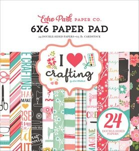 Pack Your Bags 6x6 Paper Pad Carta Bella Paper 24 Double-sided Sheets Vacation
