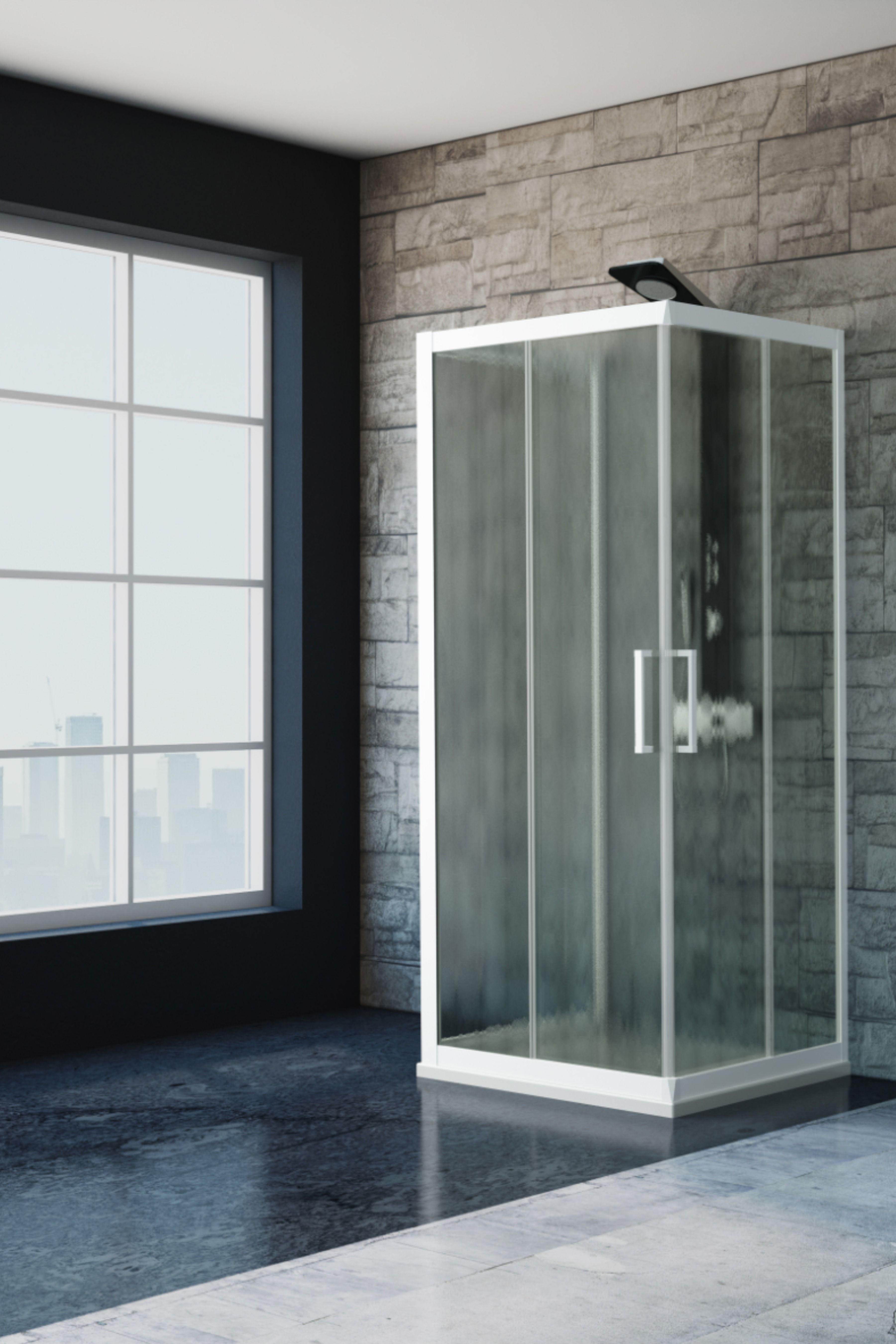 Zen box doccia 70x90x70 trasparente bianco opaco nel 2020