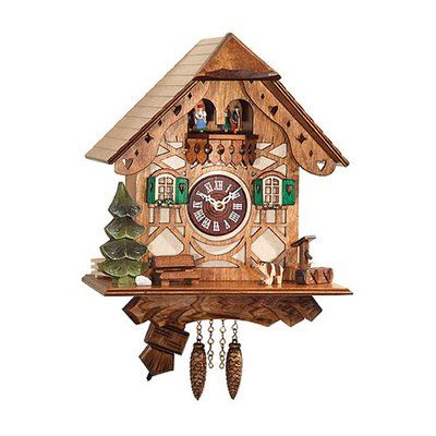 loon peak battery operated wall clock with music and on wall clocks battery operated id=45302