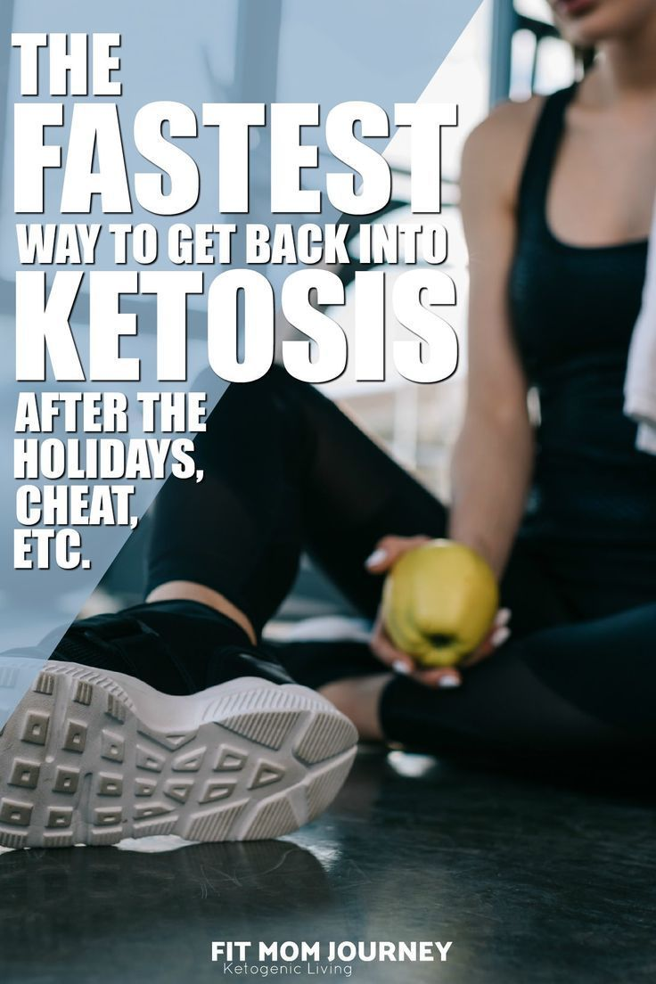 The Fastest Way To Get Back Into Ketosis After the