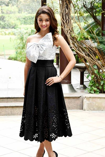 Birthday Girl Alia Bhatt Chose This Pretty Dress From