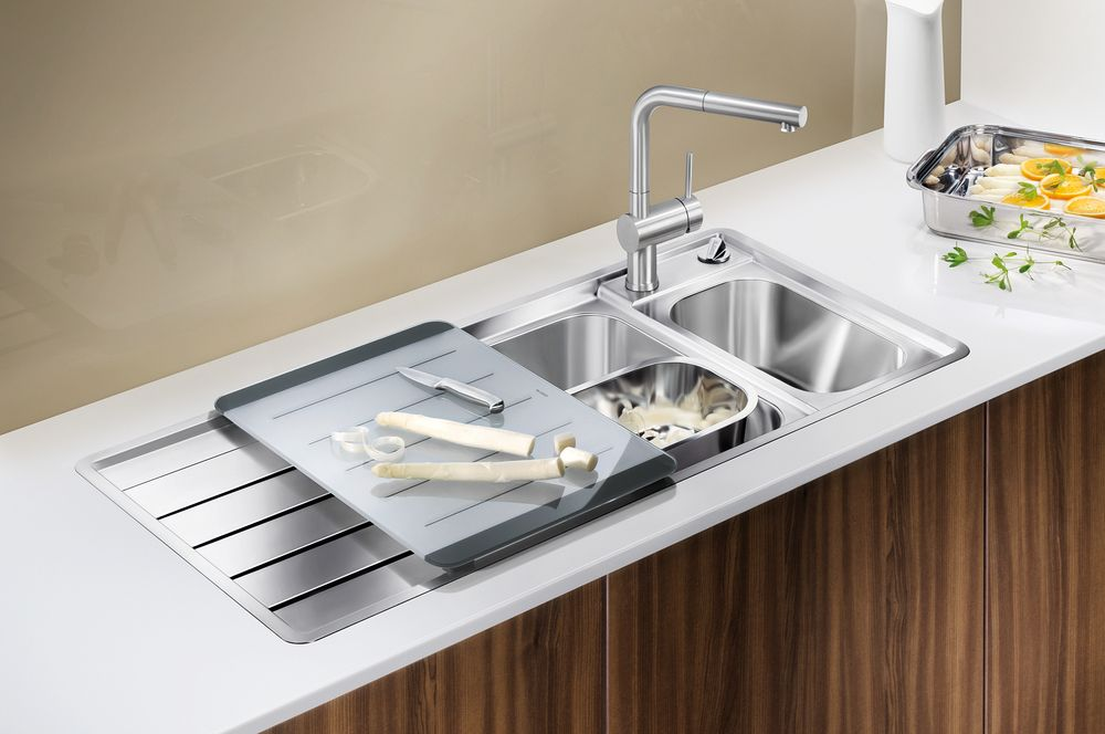 BLANCOAXIS Blanco German Sinkware. Available from German Kitchens ...