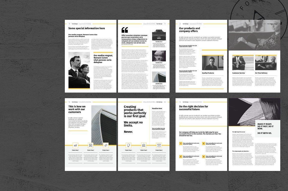 Company Brochure Company brochure, Brochure, Indesign