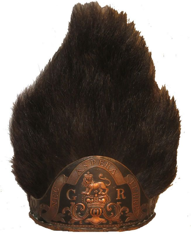 British grenadier mitre 1768