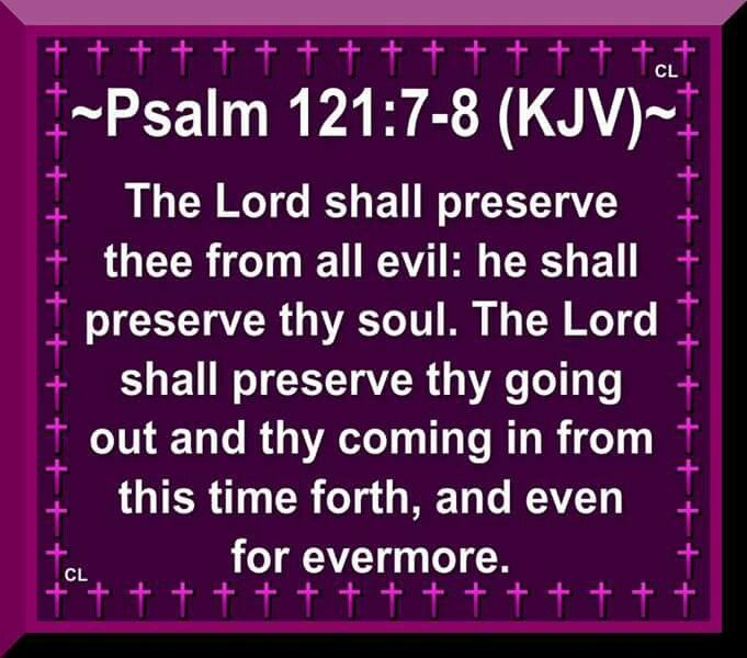 Image result for psalm 121 7 8 kjv