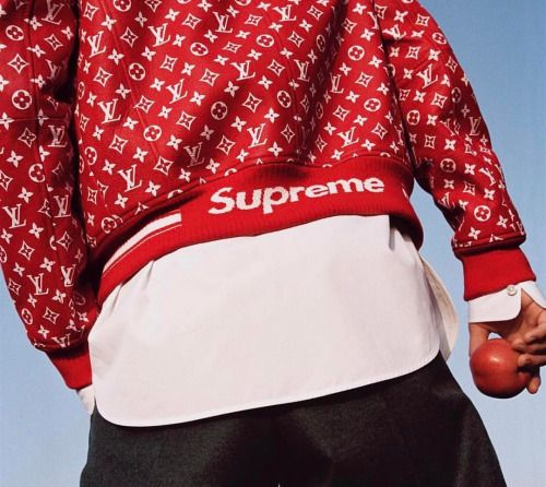 Supreme x LV (via supreme__hustle