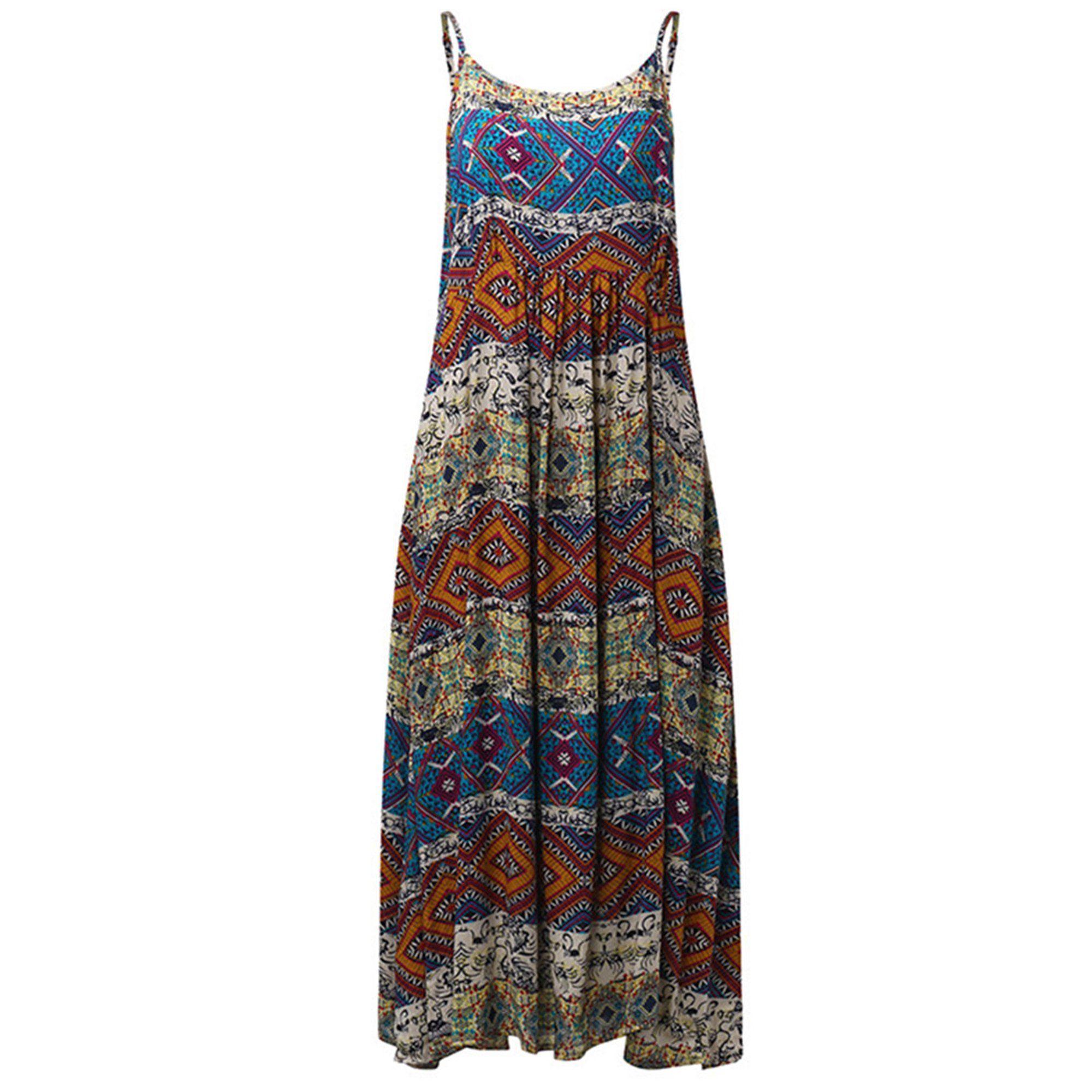 Zanzea Women Bohemia Print Sleeveless Casual Loose Beach Long Maxi Dress Walmart Com Walmart Com In 2021 Vintage Maxi Dress Maxi Dress Boho Maxi Dress [ 2000 x 2000 Pixel ]