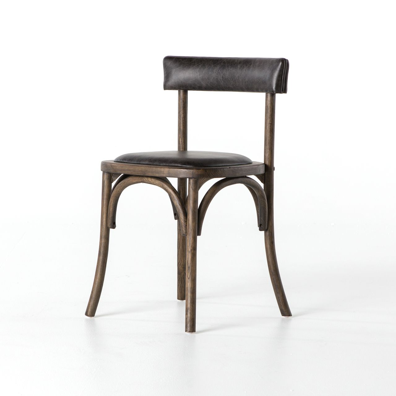 French farmhouse chair with leather seat with images