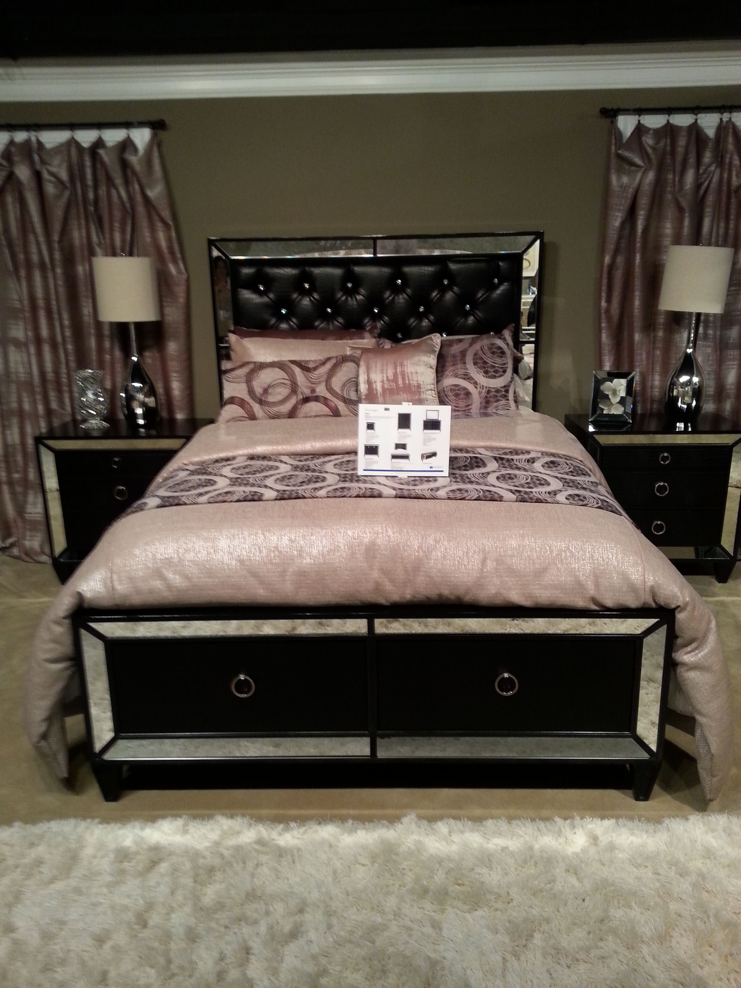 44++ Black mirror bedroom set ideas