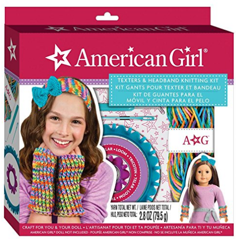 American Girl Texters And Headband Knitting Kit Arts Crafts Kits For Tween Girls