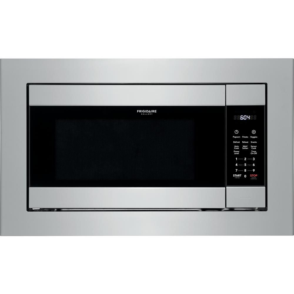 Frigidaire 2 2 Cu Ft Built In Microwave In Stainless Steel Fgmo226nuf The Home Depot In 2020 Built In Microwave Stainless Steel Microwave Frigidaire Gallery