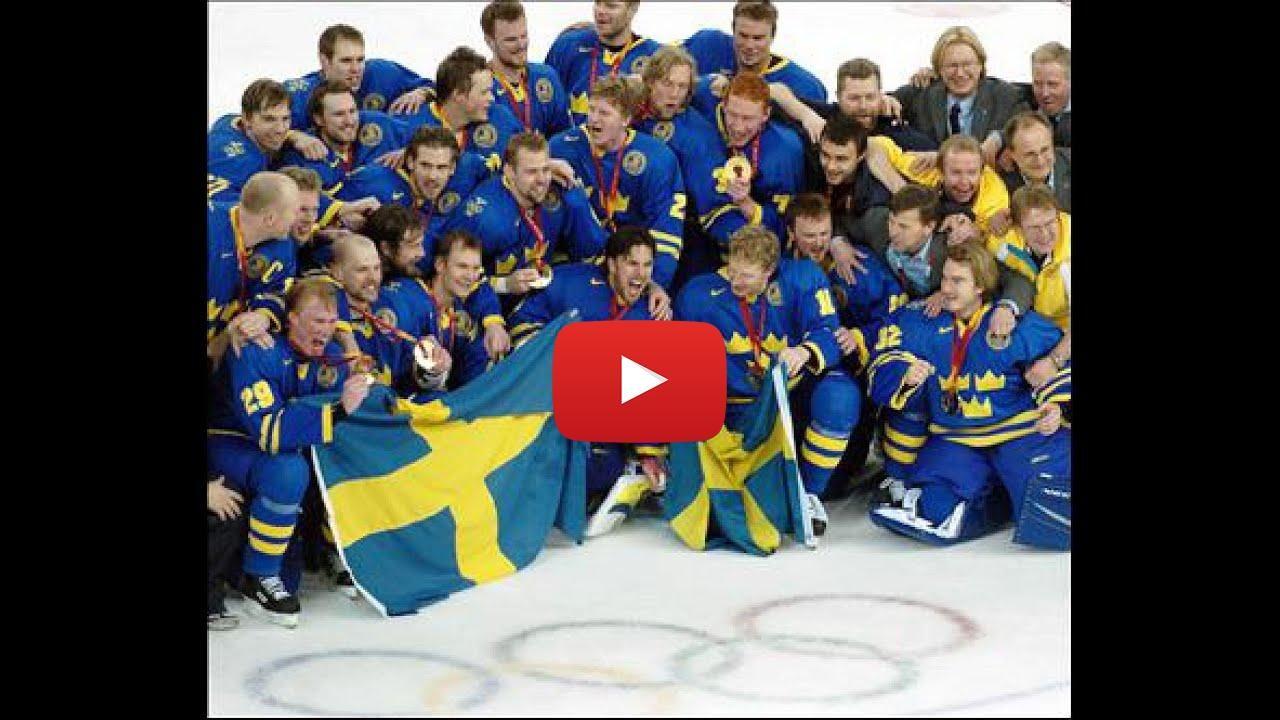 Sweden Men S National Ice Hockey Team Watch Video Sweden Men S National Ice Hockey Team Sweden Men S National Ice H Ice Hockey Teams Ice Hockey Hockey Teams