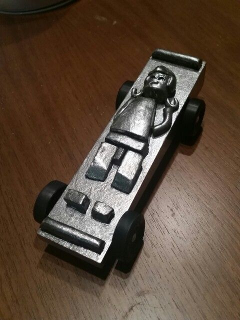 Cub Scout Pinewood Derby 2016 Star Wars Lego Hon Solo In Carbonite