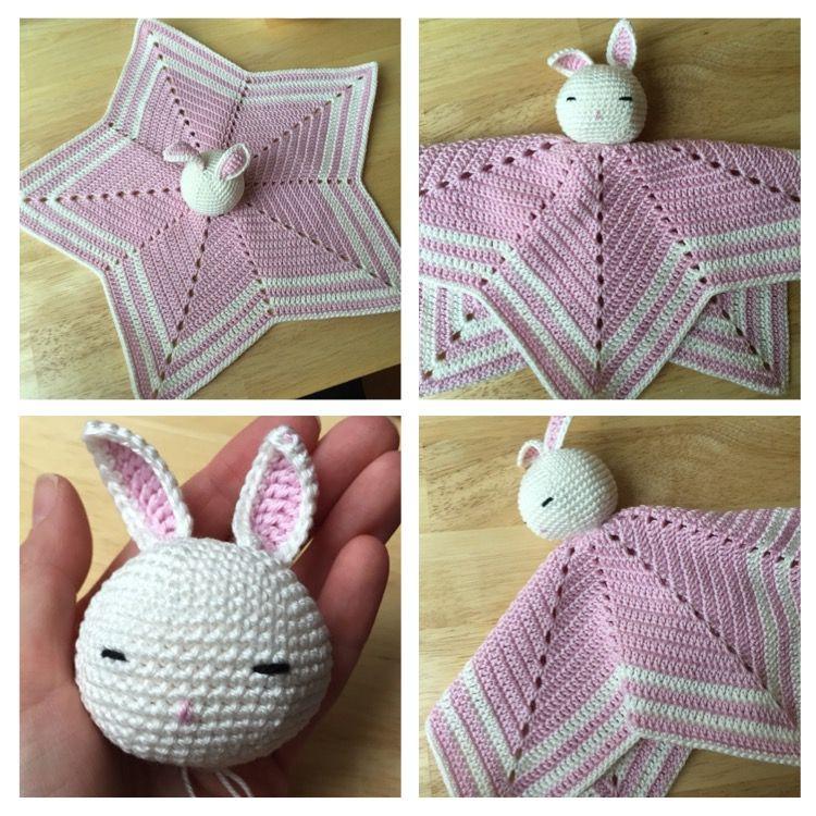 Wie Häkle Ich Ein Schmusetuch Crochet Crochet Baby Knitting