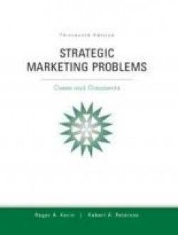 Strategic marketing problems cases and comments 13th edition strategic marketing problems cases and comments 13th edition free ebook online fandeluxe Image collections