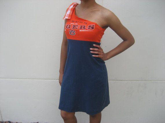 Upcycled t-shirt dress on etsy