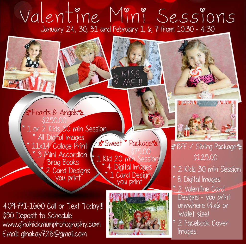 The Kissing Booth * Valentine Mini Sessions {Dickinson Child Photographer} | Gina Hickman Photography