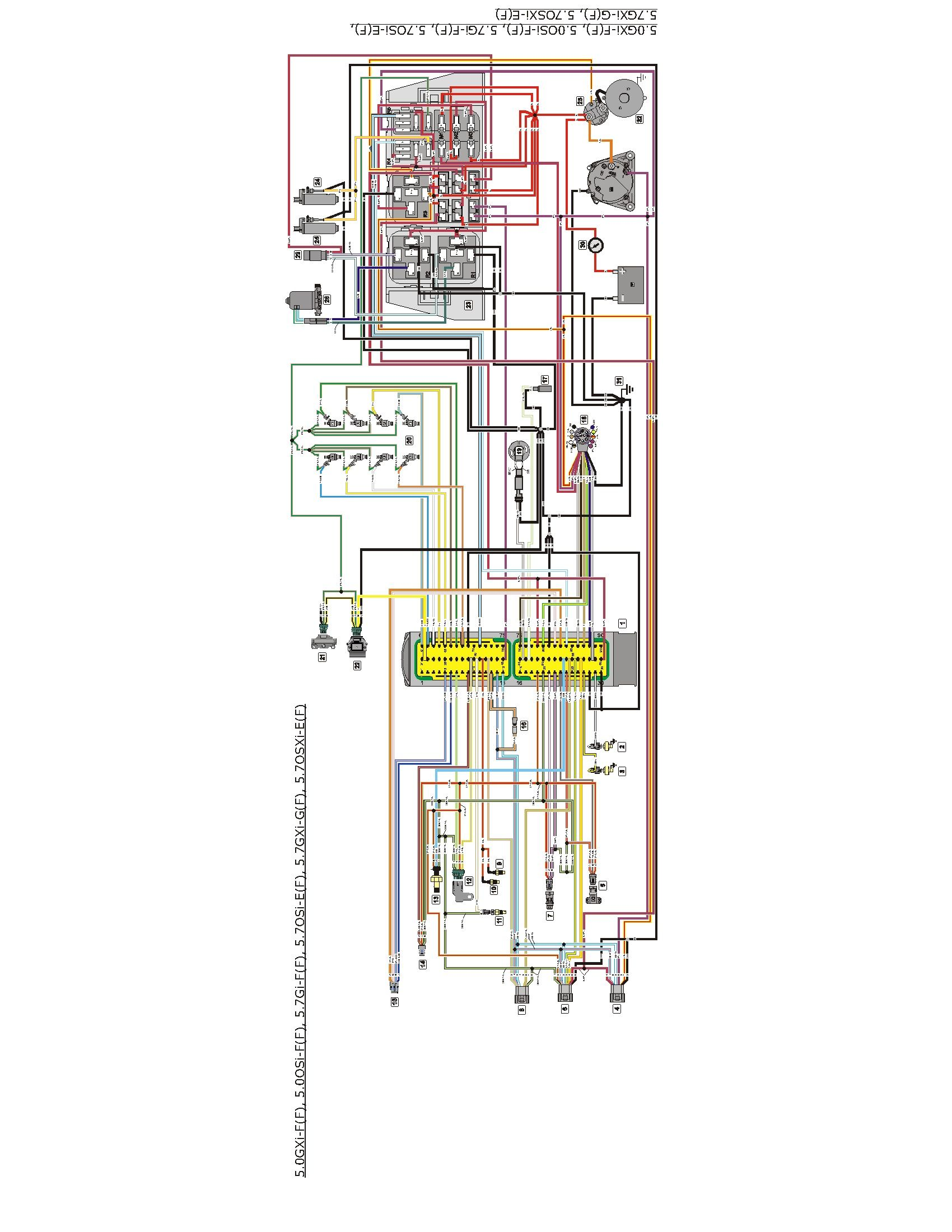 volvo penta 5 7 engine wiring diagram boat pinterest volvo and rh pinterest com volvo penta 4.3 gxi wiring diagram volvo penta 5.0 gxi-e wiring diagram