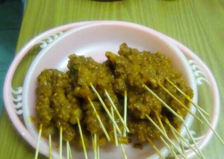 Resep Masakan Sate Kikil Bumbu Kunyit Cungkring Khas Bogor Resep Masakan Resep Masakan