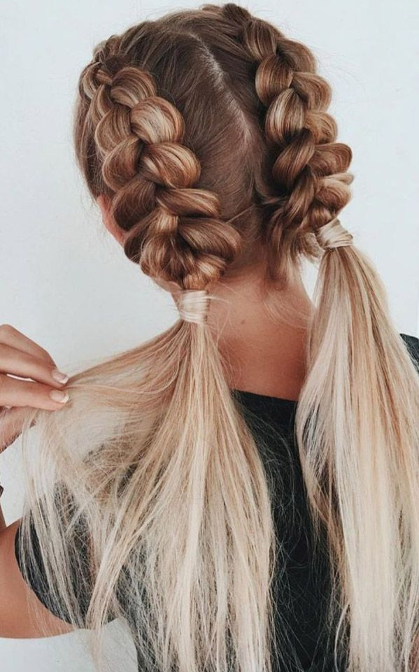 24 Thin Hairstyles For Prom Short Thin Hairstyles Medium Thin Hairstyles 2016 T In 2020 Medium Hair Styles Braided Hairstyles Cute Hairstyles For Teens