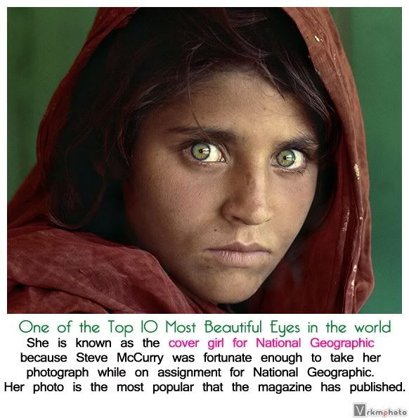 She Is Known As The Cover Girl For National Geographic One Of The