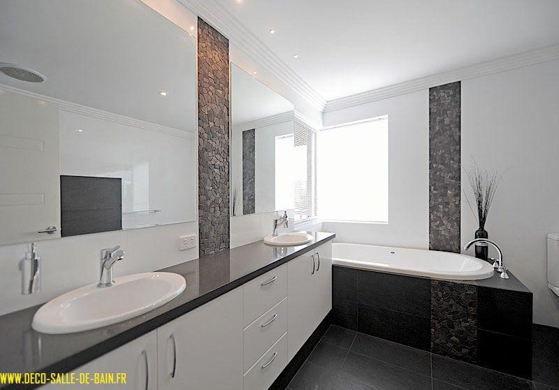deco salle de bain design maison et idee deco Pinterest - decoration salle de bain moderne