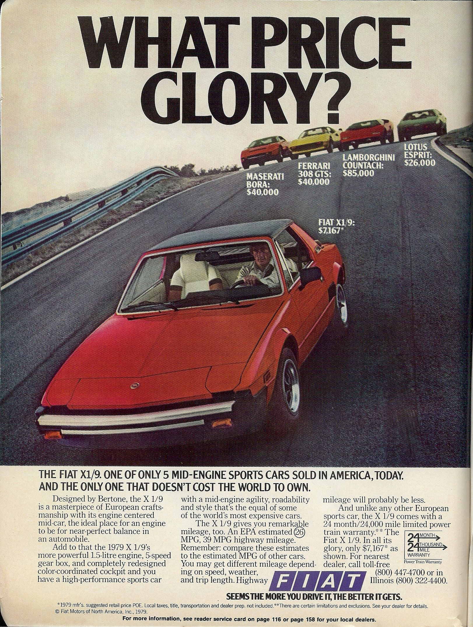 Pin By Midwest Bayless Italian Auto On X19 Fiat X19 Vintage Cars