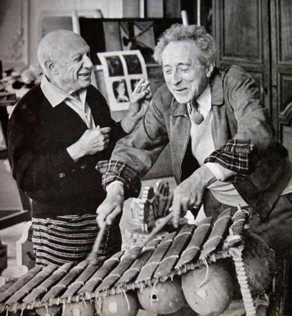 Picasso and Cocteau
