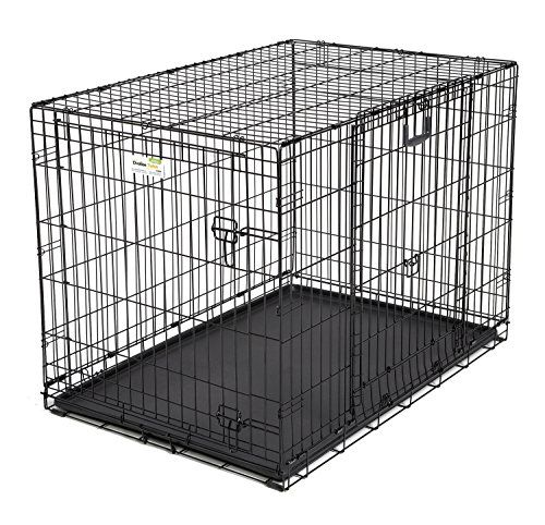 Midwest Homes For Pets Ovation Double Door Dog Crate 42inch Click On The Image For Additional Details Dog Crate Sizes Wire Dog Crates Pet Crate
