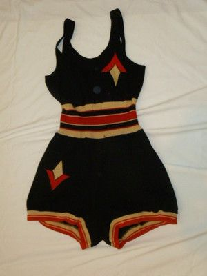 5f3591c95de RARE Vintage 1920s Wool Bathing Swimming Suit by Bradley | 1920s ...