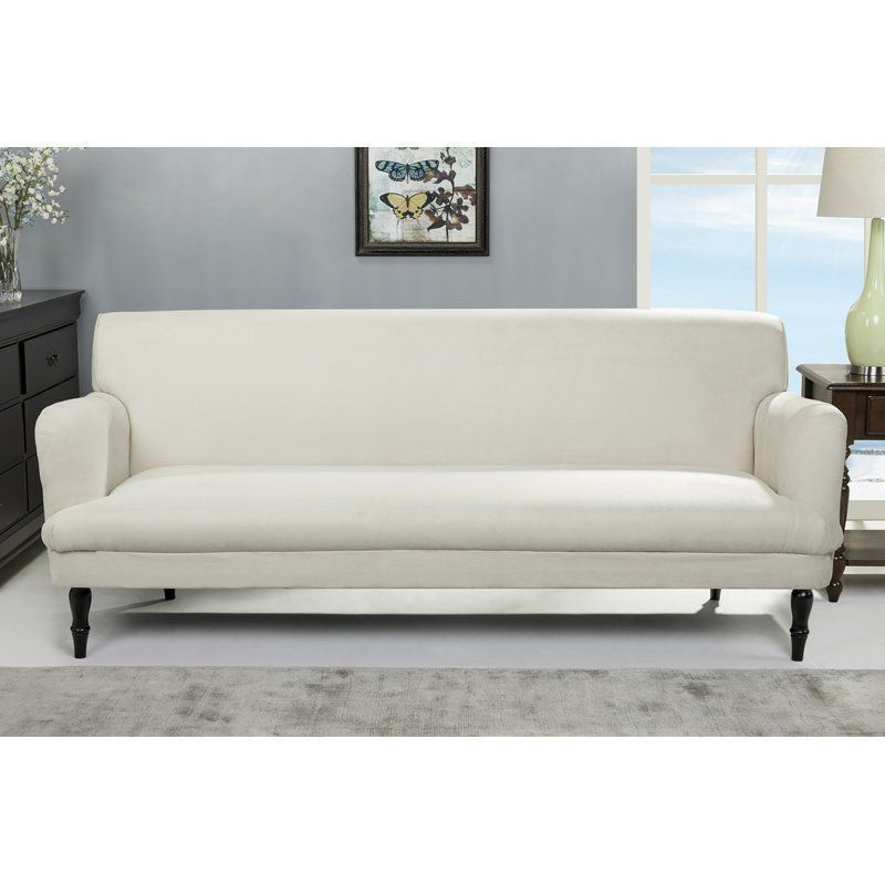4 Seater Sofa Bed Clic Clac Large Size Foam Fibre Wooden Living Room Furniture